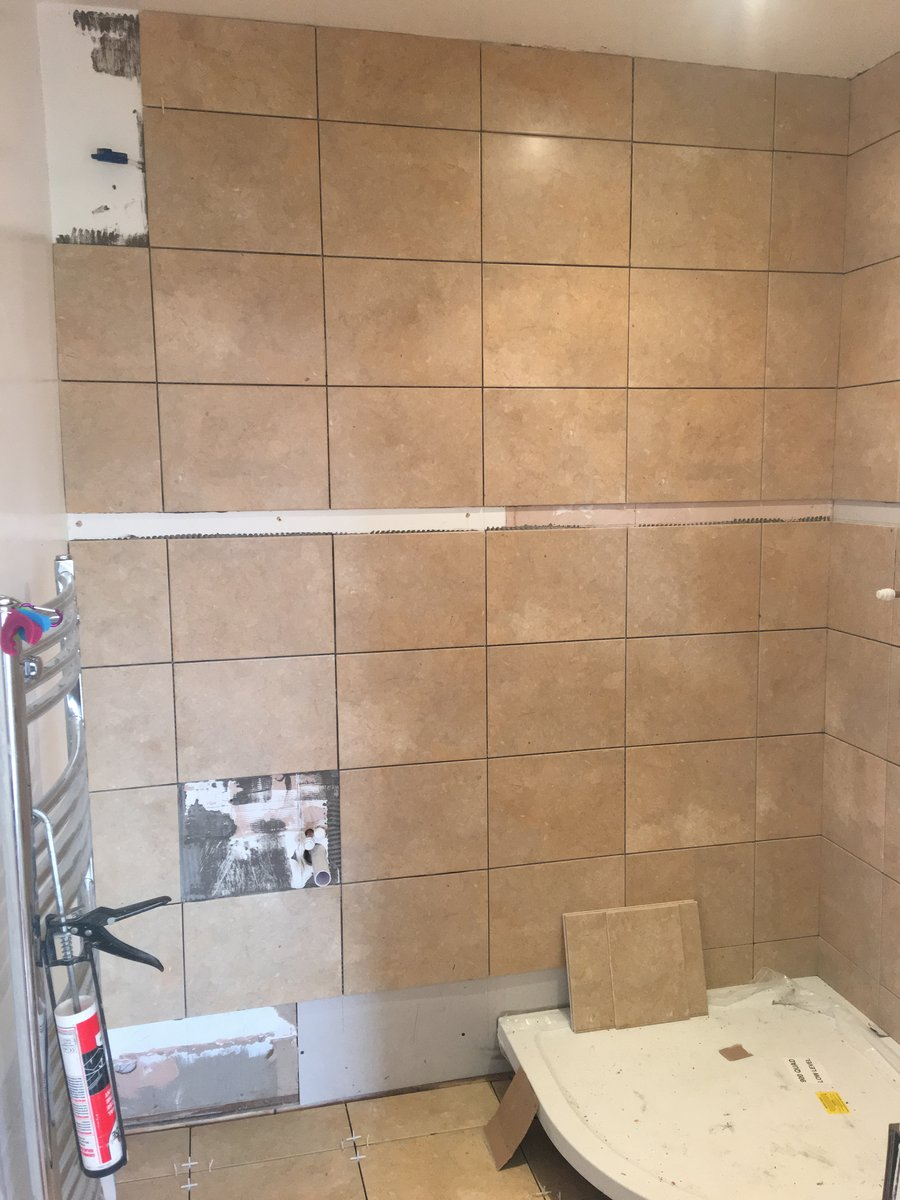Image of bathroom en suite makeover mork