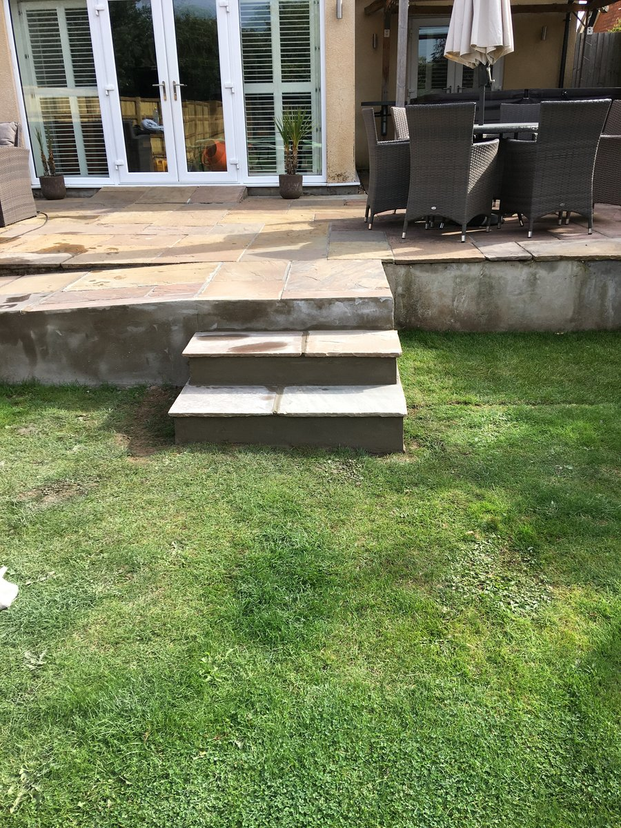 Image of disabled ramp and garden path beachley