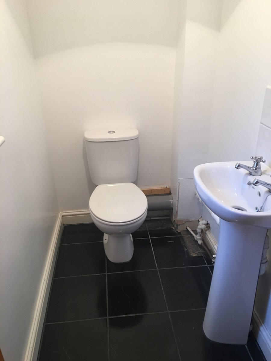 Image of downstairs cloakroom makeover mork