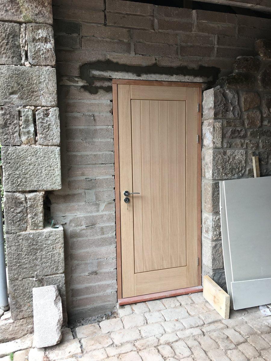 image showing external doorway doorframe and door st briavels commonn