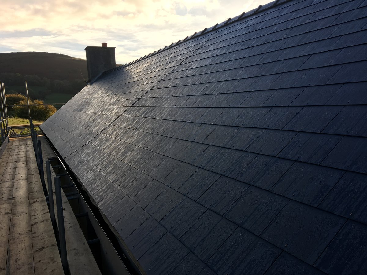 image showing farmhouse slate roof replacement cwmyoy