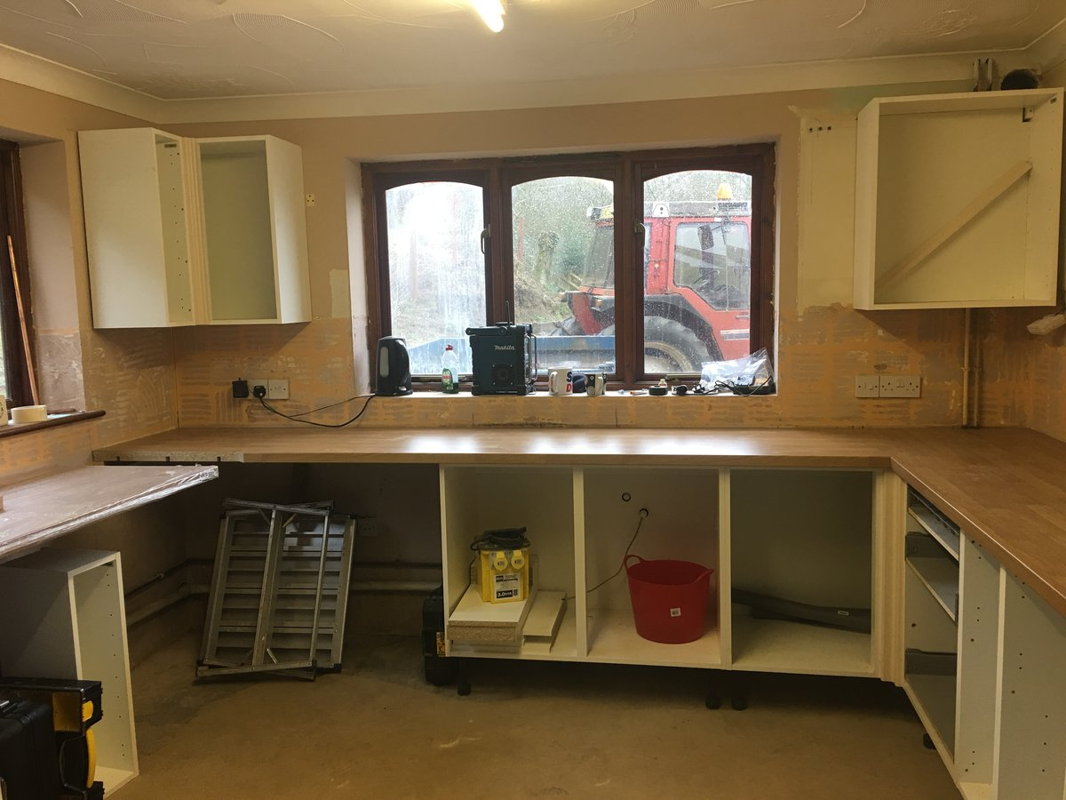 Image of kitchen refurbishment joys green