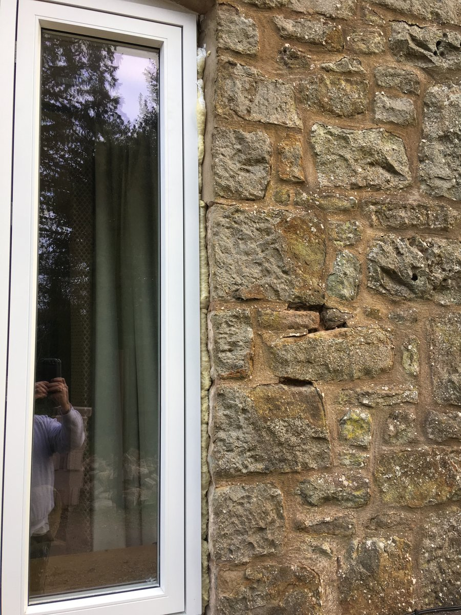 Image of making good window reveals inside and out st briavels common