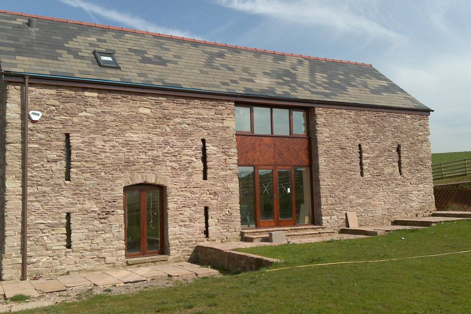 Image of Barn conversion in Monmouthshire