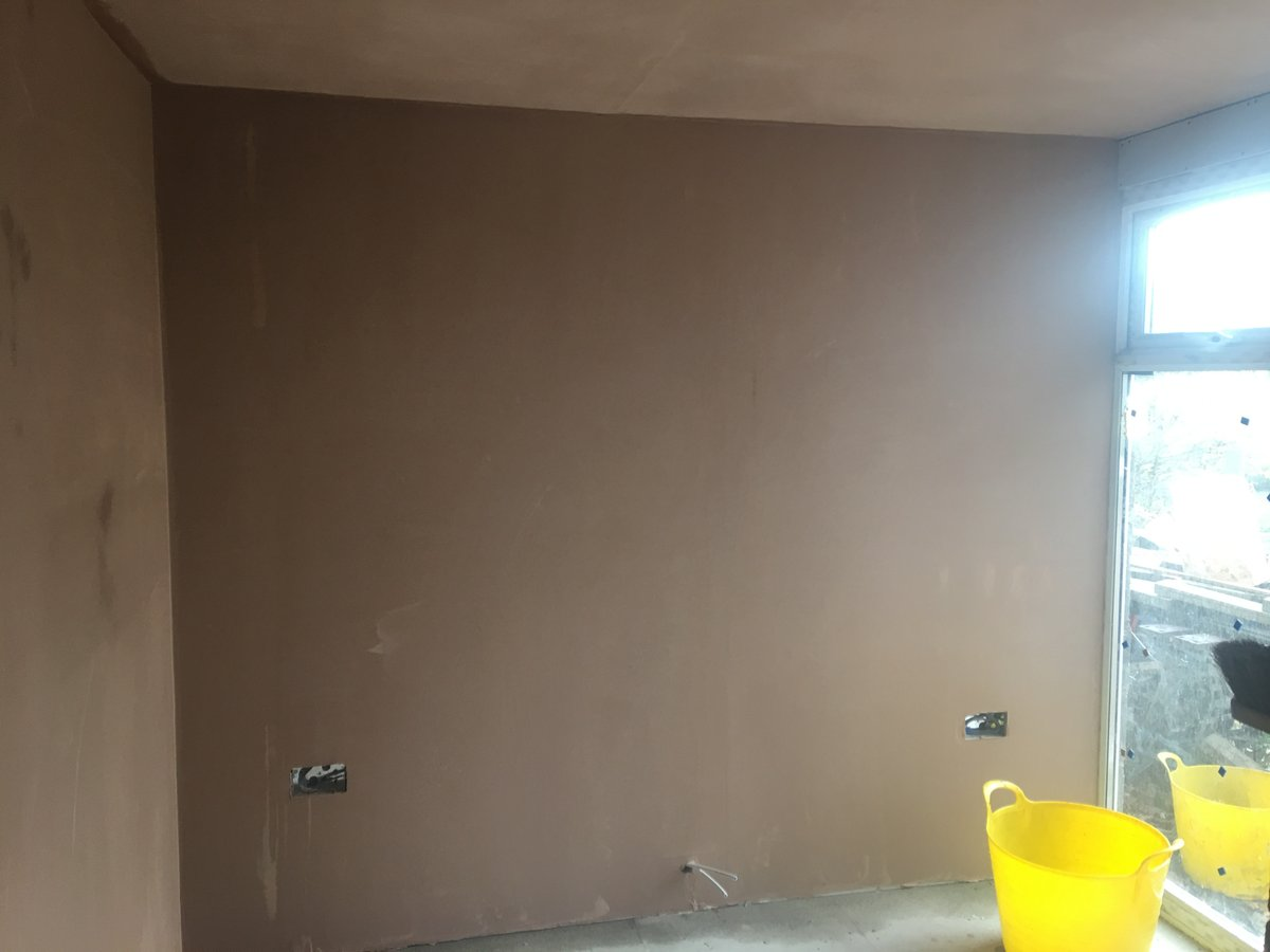 Image of new doorway boarding plastering llanishen
