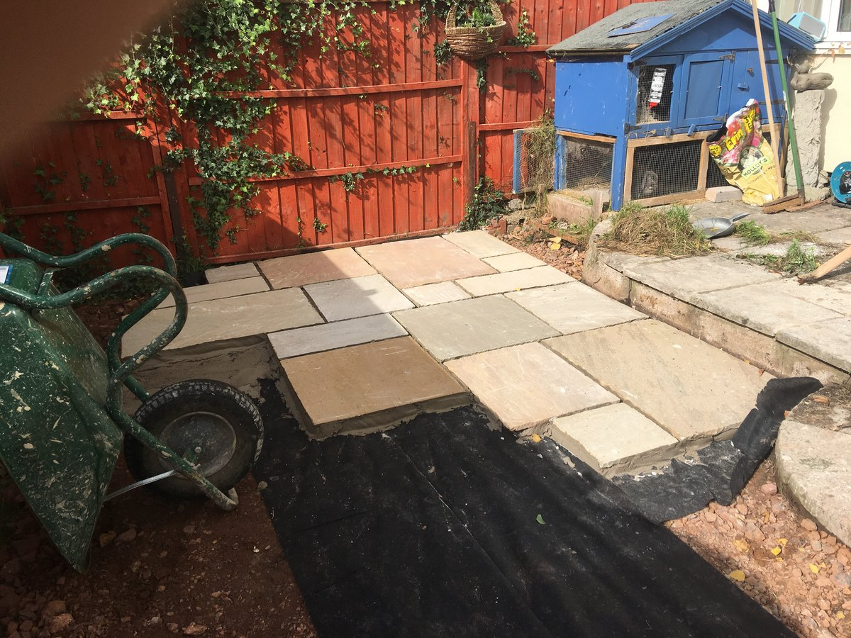 Image of patio indian sandstone monmouth