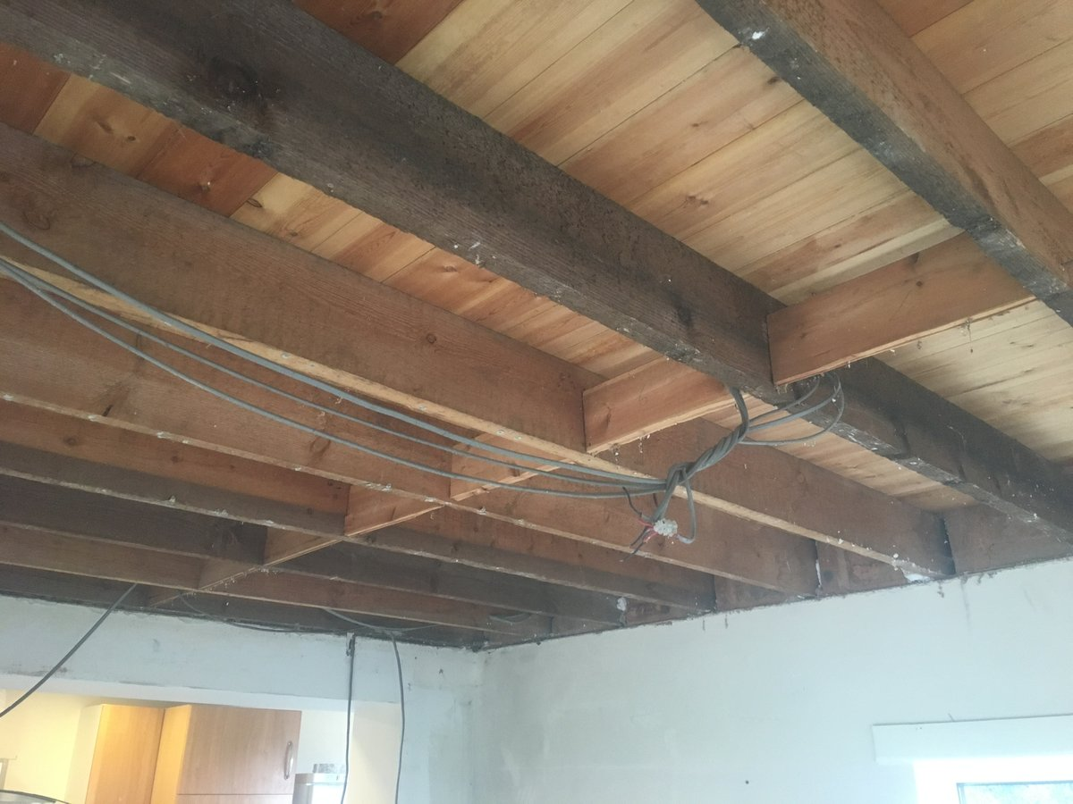 Image of replacement ceiling llanishen