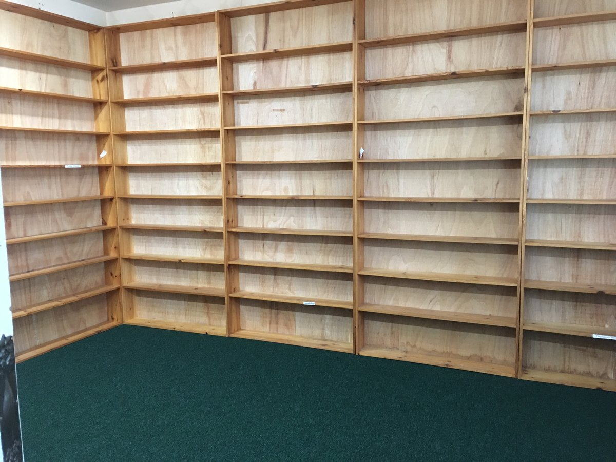 Image of shelving antique book shop tintern