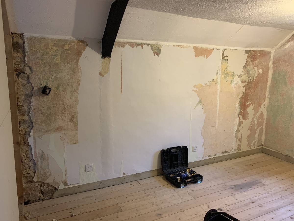Image of Renovation of stone cottage in Catbrook