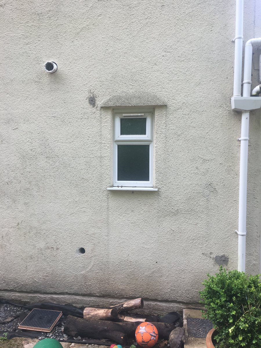 Image of window to door conversion brockweir